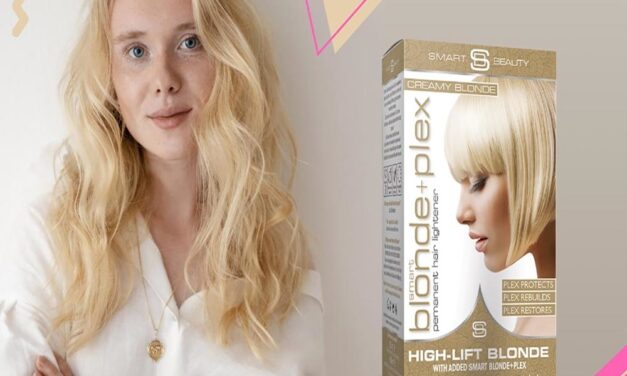 WE LAUNCHED OUR FIRST DAMAGE-FREE BLONDE DYES