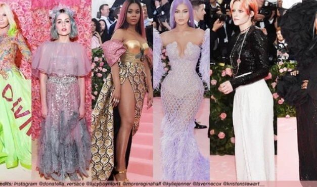 MET GALA 2019 CANDY-COLOURED HAIR TREND