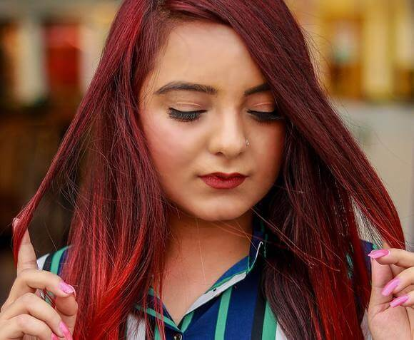 HOW TO DYE YOUR HAIR RED WITHOUT PRE-LIGHTENING