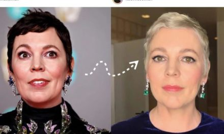 OLIVIA COLMAN'S DRASTIC HAIR COLOUR CHANGE FOR OSCARS 2020