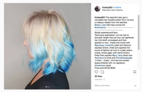 THE HAIR TREND FOR 2018 – REVERSE BALAYAGE – WHAT'S IT ALL ABOUT?